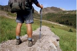 Using walking boots 'can shed pre-holiday pounds'