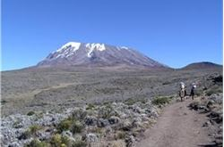 Hula-hooper takes on Kilimanjaro