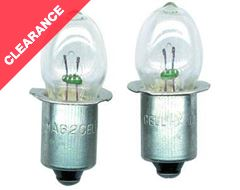 2 Cell C D White ST  Bulb
