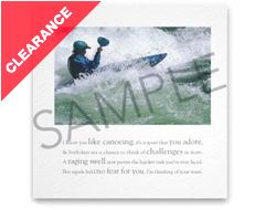 Canoe Swell Greeting Card