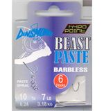 Beast Paste Barbless Hooks size 10