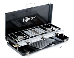 Elite Double Burner And Grill