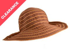 Ladies Wide Brim Sun Hat