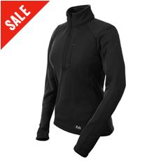 Women's PowerStretch Zip Top