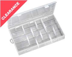 28 Section Tackle Box, 350x228x49mm