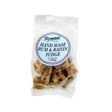 Rum and Raisin Fudge (150g)