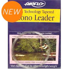 Tapered Mono Leader- 9ft - 7X - 2.4lb