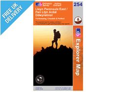 Explorer 254 Lleyn Peninsula East Map Book