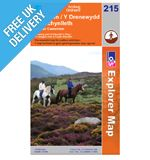 Explorer 215 Newton llanfair Map Book