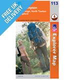 Explorer Map OL113 Okehampton (Hatherleigh, North Tawton &amp; Lapford)