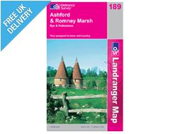 Landranger 189 Ashford and Romney Marsh Map Book