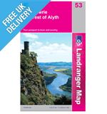 Landranger 53 Blairgowrite and Forest Map Book