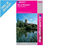Landranger 143 Ely and Wisbeech Map Book