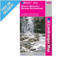 Landranger 160 Brecon Beacons Map Book