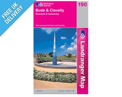 Landranger 190 Bude and Clovelly Bosca Map Book