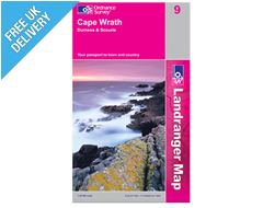 Landranger 9 Cape Wrath Durness Map Book