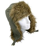 Boy&#39;s Canvas Trapper Hat