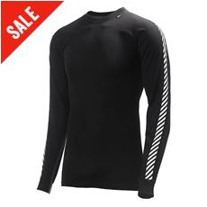 Men's Stripe Crew Baselayer Top