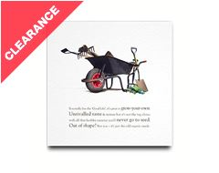 Wheelbarrow Greeting Card