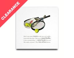 Rackets Greeting Card