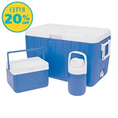 Poly-Lite 48 Quart Cooler Combo