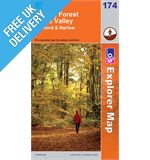 Explorer 174 Forest and Lee Map Book