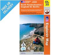 Explorer Active OL35 North Pembrokshire Waterproof Map Book