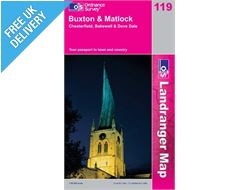 Landranger 119 Buxton and Matlock Map Book