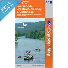 Explorer 418 Lochindorb Grantown Map Book