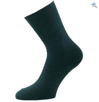 1000 Mile Men's Ultimate Liner Socks - Size: L - Colour: Black