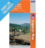 Explorer 400 Loch Lochy and Glen Roy Map Book