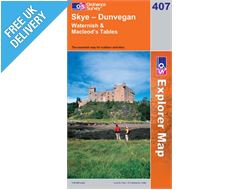 Explorer 407 Skye- Dunvegan Map Book