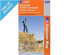 Explorer 328 Sanquar and New Cumnock Map Book