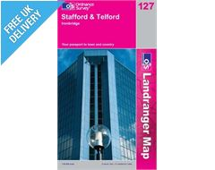 Landranger 127 Stafford and Telford Map Book