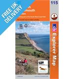 Explorer Map OL115 Exmouth and Sidmouth (Honiton)