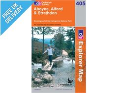 Explorer 405 Aboyne Alford Map Book