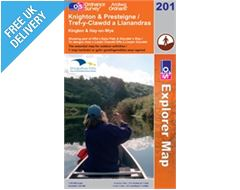 Explorer 201 Knighton and Presteigne Map Book