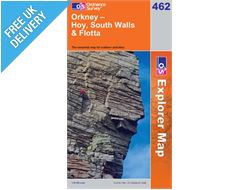 Explorer 462 Orkney West Mainland Map Book