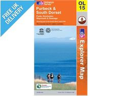 Explorer Active OL15 Purbeck Waterproof  Map Book