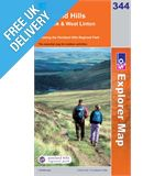 Explorer 344 Pentland Hills Map Book