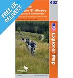 Explorer 402 Strathspey Map Book