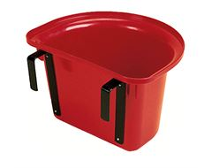 Plastic Portable Manger - Red