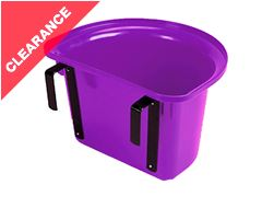 Plastic Portable Manger - Purple