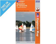 Explorer 232 Nuneaton and Tamworth Map Book