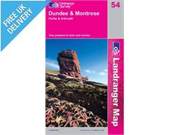 Landranger 54 Dundee and Montrose Map Book