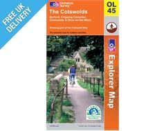 Explorer Active OL45 Cotswolds Waterproof Map Book