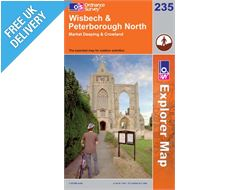 Explorer 235 Wisbech and Peterborough Map Book