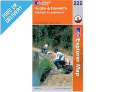 Explorer 222 Rugby and Daventry Map Book