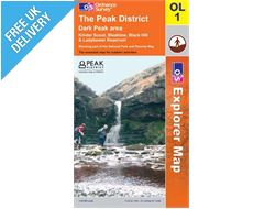 Explorer Active OL1 Dark Peak Waterproof Map Book