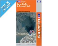 Explorer 373 Iona Staffa and Ross Map Book